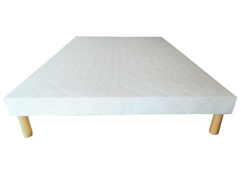 Acheter Sommier 120x190 tapissier 26 lattes 12 cm + 4 pieds pas cher !