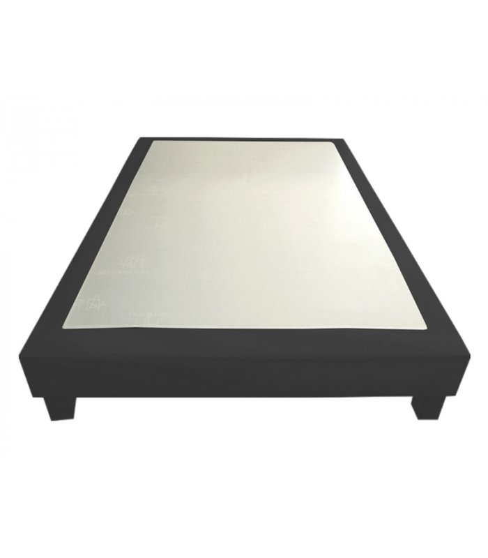 sommier 160x200 gris de qualit d co prestige. Black Bedroom Furniture Sets. Home Design Ideas