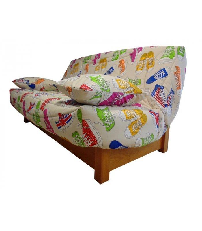 housse clic clac 130x190 en coton pas cher motifs. Black Bedroom Furniture Sets. Home Design Ideas