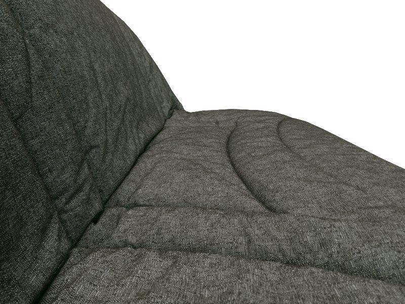 housse pour clic clac 140x190 matelass e terrenas gris. Black Bedroom Furniture Sets. Home Design Ideas