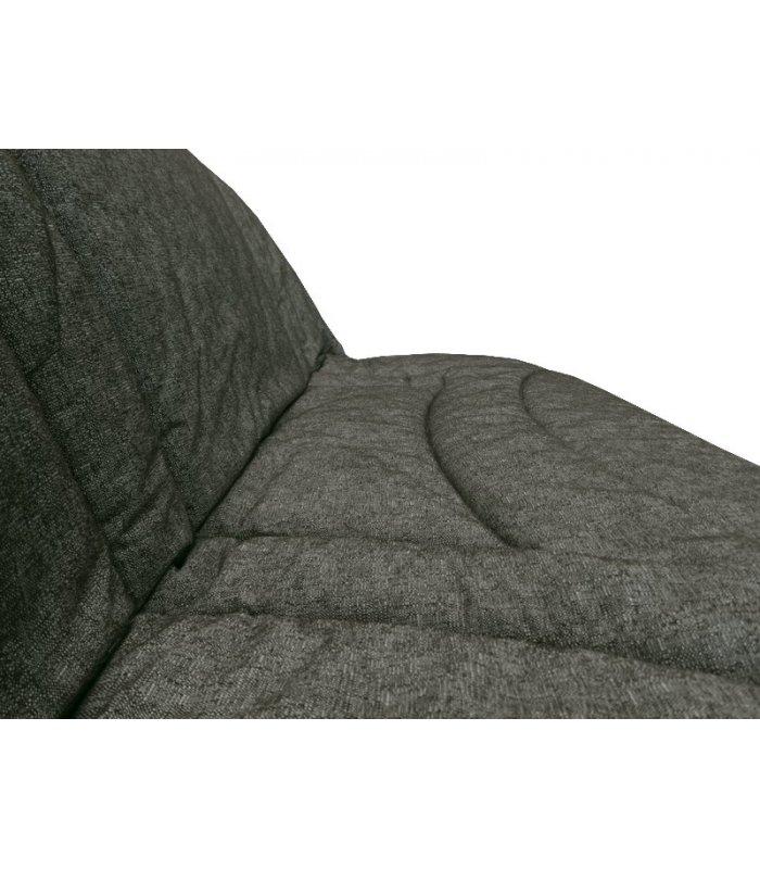 housse pour clic clac 130x190 matelass e terrenas gris. Black Bedroom Furniture Sets. Home Design Ideas